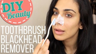Toothbrush Blackhead Remover-BEST EVER?!